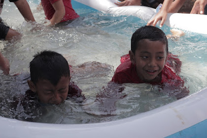 Lomba Mencari Uang Dalam Air (Anak-Anak) - 18 Agustus 2019