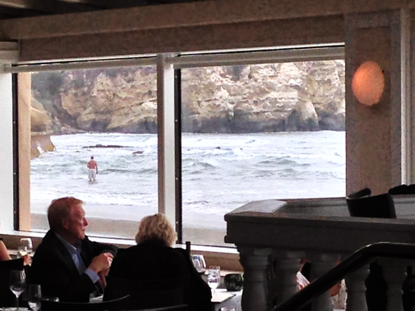 Life Is A Highway The Marine Room Elegant Dining On The Surf