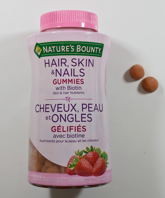 nature's bounty hair skin and nails gummies