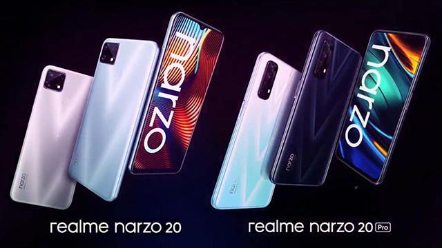 realme narzo 20 series