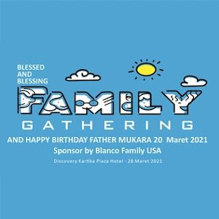 280321 FAMILY GATHERING & HAPPY BIRTHDAY FATHER MUKARA