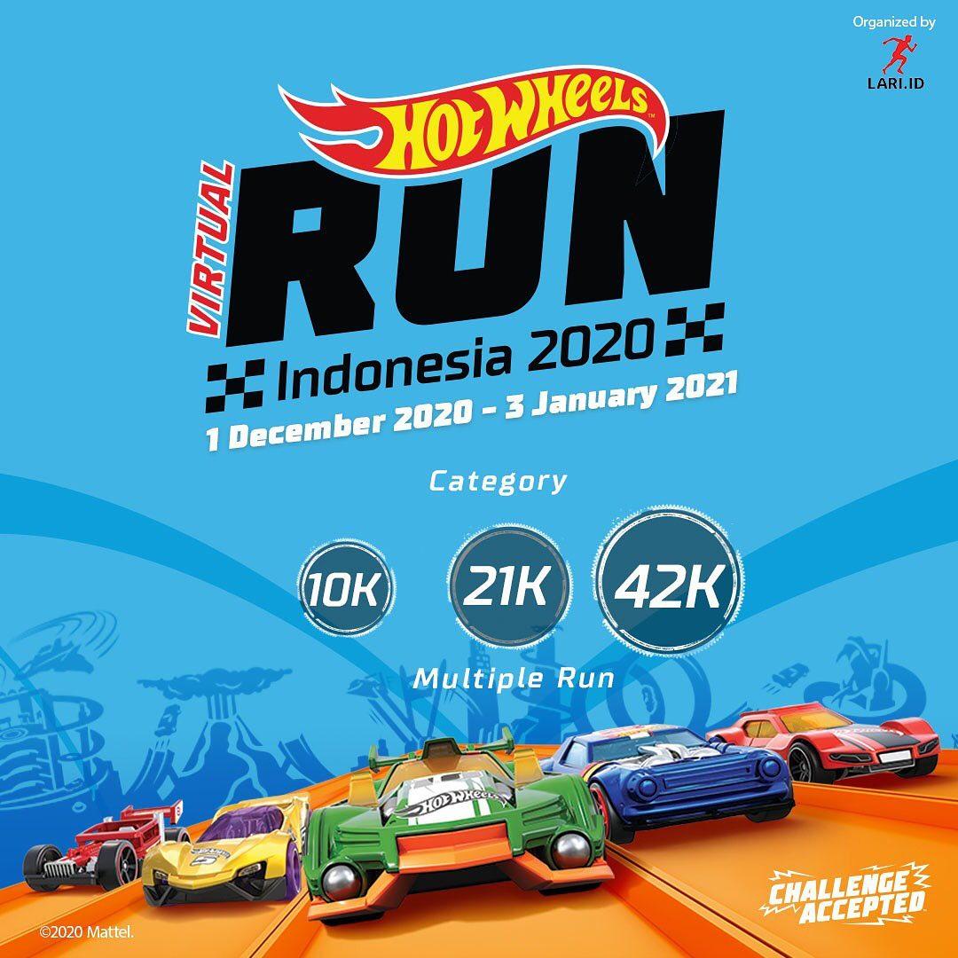 Hot Wheels Virtual Run - Indonesia • 2020