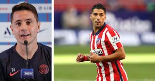 PSG star Ander Herrera hit at Barcelona for losing Suarez