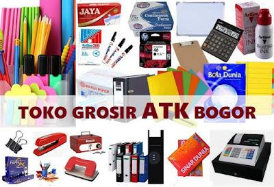 toko alat tulis kantor kota Bogor dan kab. Bogor Jawa Barat