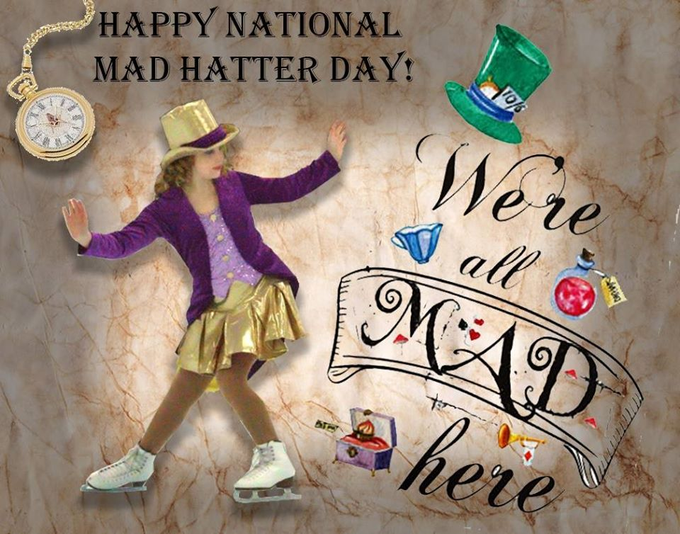 National Mad Hatter Day Wishes Images