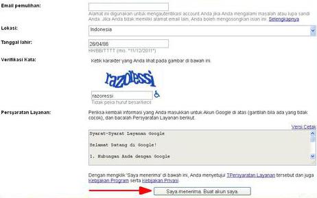 Daftar Gmail:Daftar Gmail