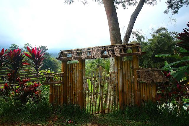 Porte du bonheur à Jatiluwih