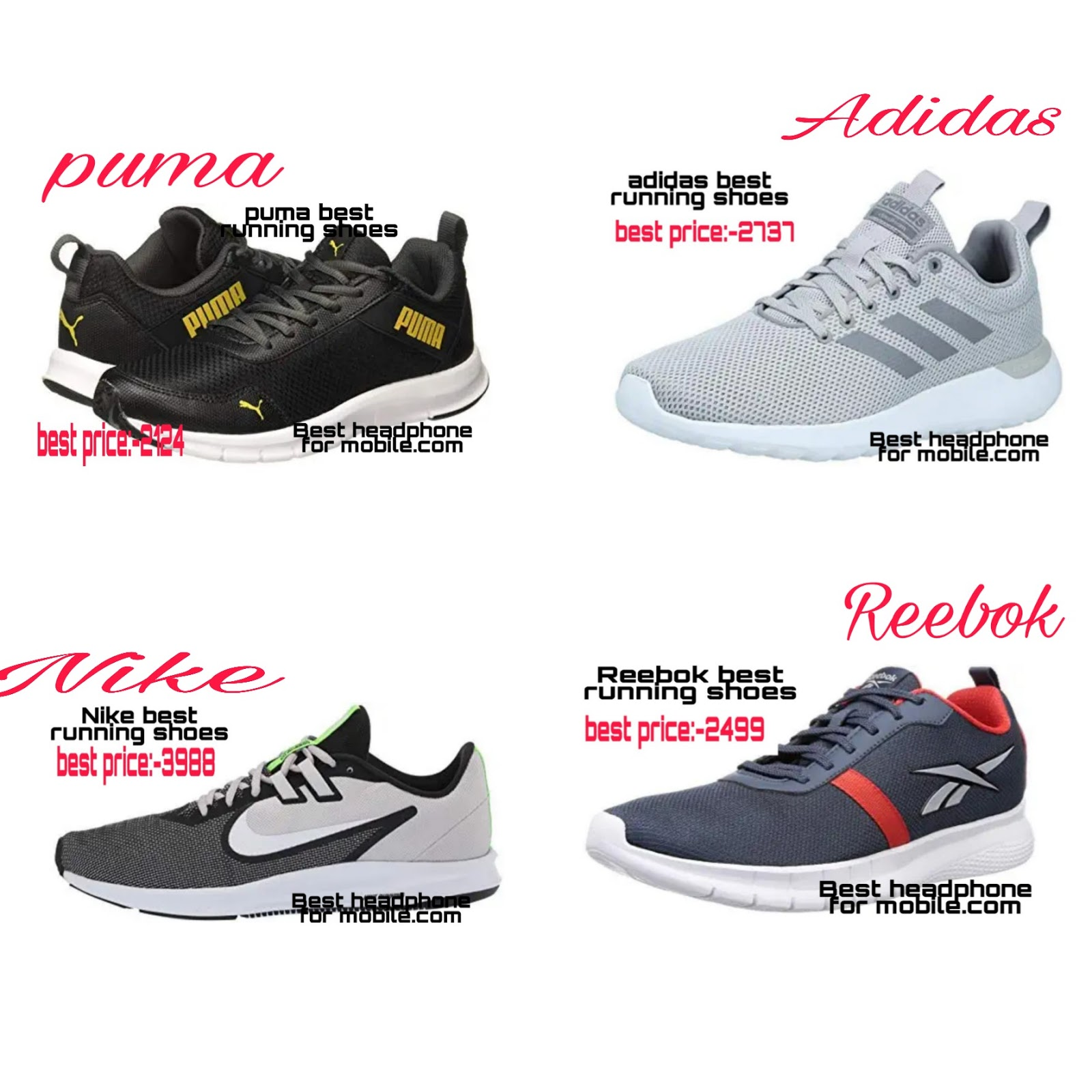 Best Training Shoes 2021 top 4 best puma adidas Nike Reebok running shoes(2020 2021)   This