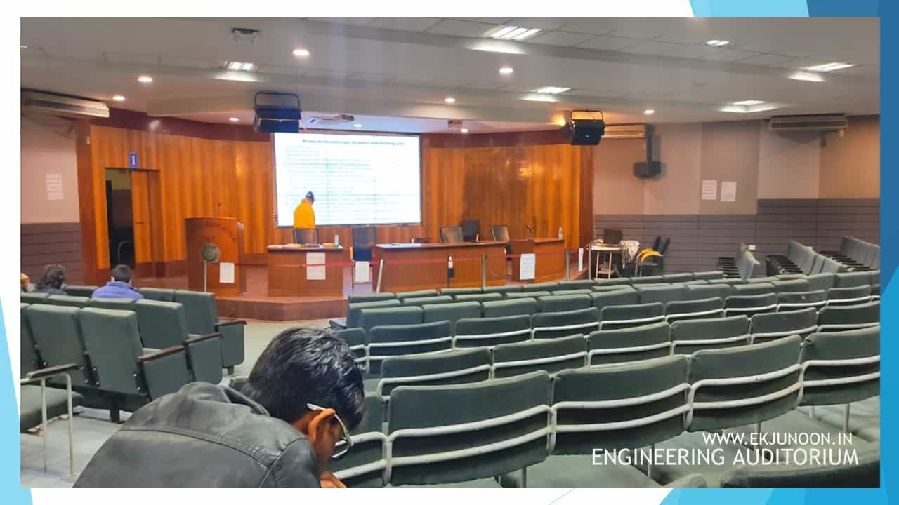 engineering auditorium of jamia  millia islamia new delhi