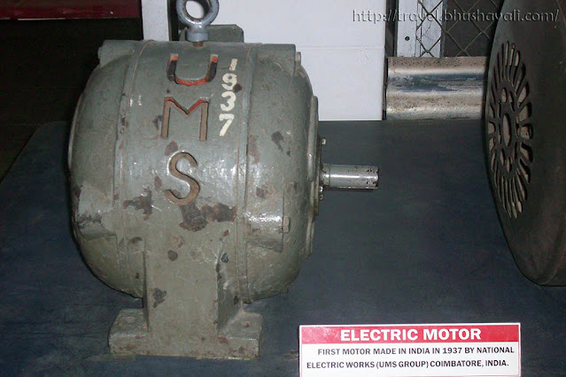 GD Naidu Science Museum Industrial Exhibition First Electric Motor of India