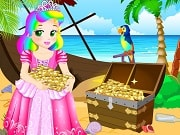 Play the best free online girl games, enjoy Princess Juliet Escapes Treasure Island and all Princess Juliet games only on GamesGirlGames.com. Princess Juliet is thirsty for some real adventure and she decided to go and visit a tropical island. There she found a treasure but the evil troll took the treasure chest and hide it. You have to help Juliet find the hidden treasure. First help her repair the pirate Ship so she can find the treasure island. Next search the island for the treasure map and finally get to the treasure. Keep your eyes open for all the clues that will ease your task and find all the puzzle pieces. Have fun!