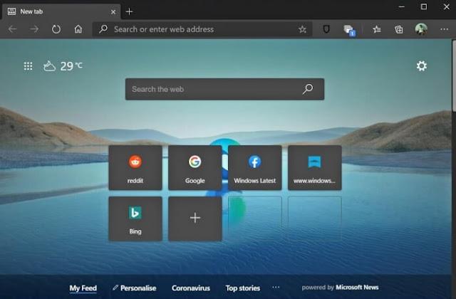 تحميل متصفح إيدج مايكروسوفت Microsoft Edge للكمبيوتر