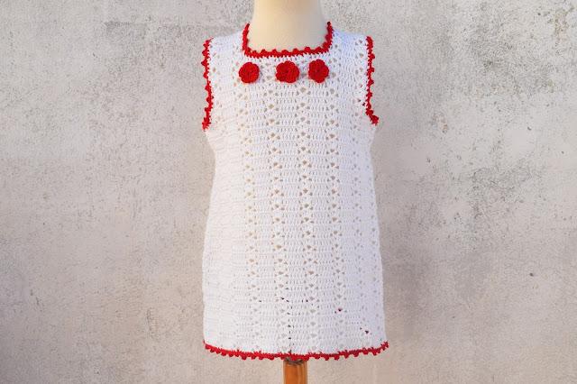 1 - Crochet Imagenes Sencillo vestido verano a crochet y ganchillo por Majovel Crochet