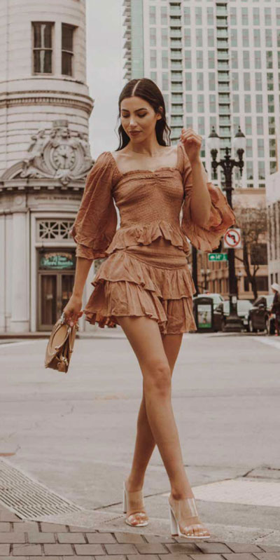 Comfy and casual style is perfect choice for summer season. It's time to share 26 Casual Summer Outfit Ideas You need this moment. Casual Outifts + Summer Style via higiggle.com   skirt outfits   #summeroutfits #casualoutfits #summer #skirt