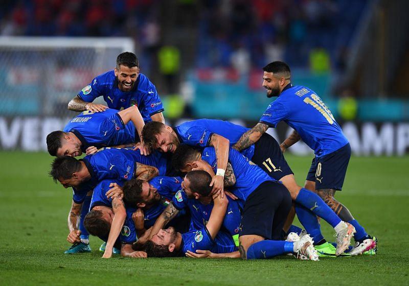 موعد مباراة إيطاليا والنمسا اليوم