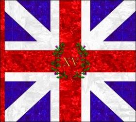 15th Regiment of Foot (Jeffrey Amherst) Kings Colour