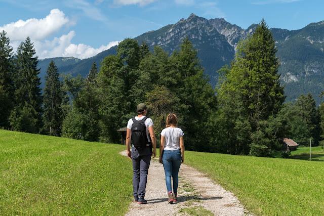 Entdeckungstour Wasser Partnach - Wetterstein Route | Wandern Garmisch-Partenkirchen 11