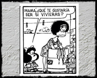 Tira de Mafalda de Quino.
