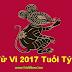 Xem tử vi 2017 cho người tuổi Tý tổng quát - Tử vi tuổi Tý 2017: Giáp Tý, Bính Tý, Mậu Tý, Canh Tý và Nhâm Tý