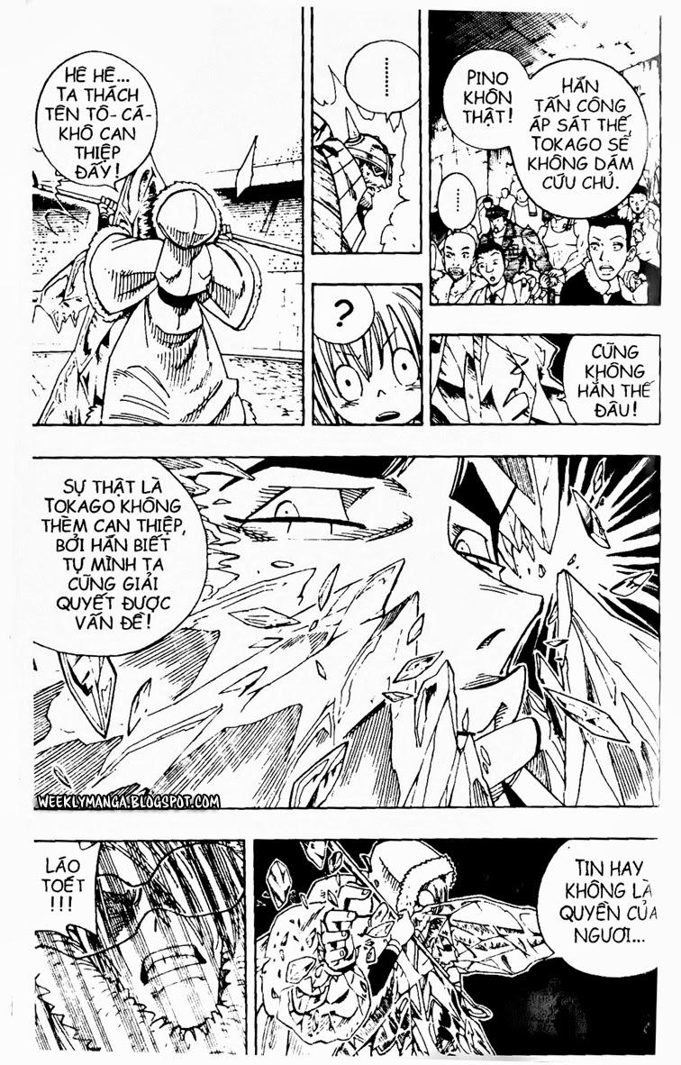 Shaman King [Vua pháp thuật] chap 132 trang 9