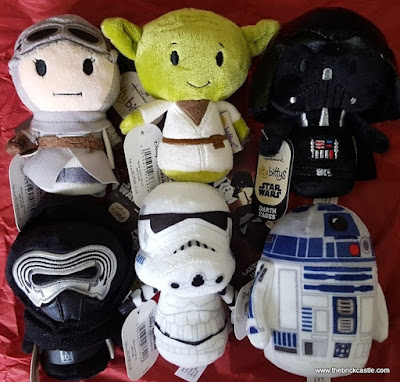 Star Wars Itty Bitty plush figures collection