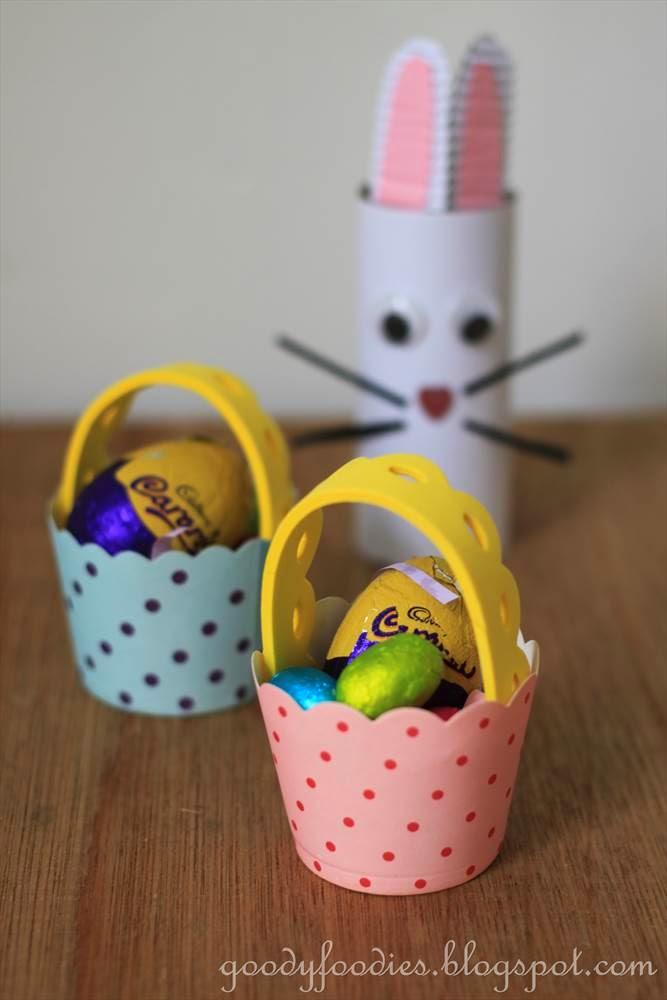 Easter Basket Crafts Pinterest