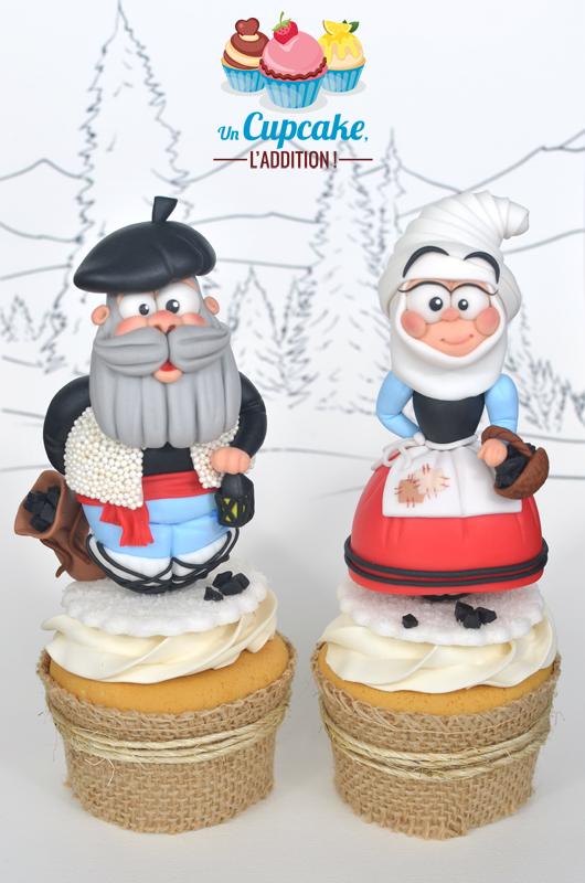 Cupcakes « Olentzero & Mari Domingi »