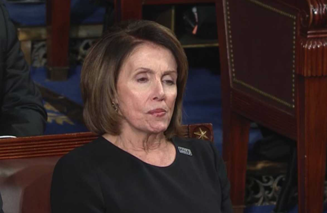 "WATCH: Nancy Pelosi Plays With Her DENTURES As Trump Calls For National Unity: ""Pelosi looks like she's about to spit out her dentures."""