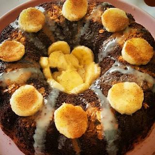 Receita de Bolo de Banana Fit, Bolo de banana sem lactose