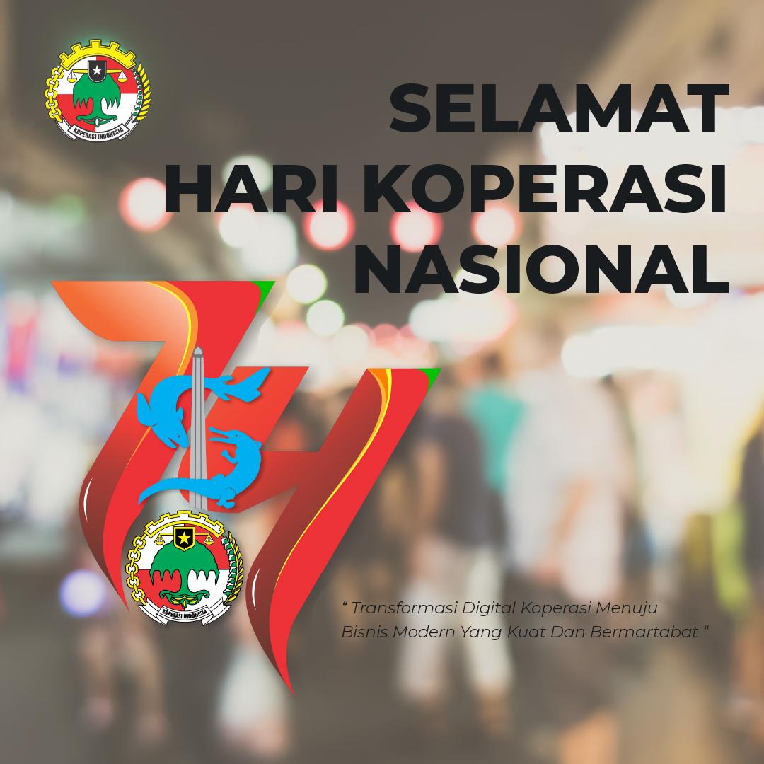 Gambar Ucapan Selamat Hari Koperasi Nasional - 12 Juli 2021