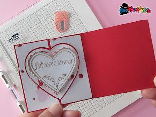 swing card per san valentino tutorial su kreattiva magazine 2
