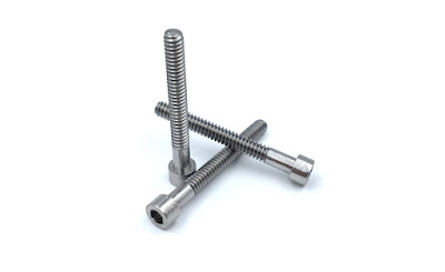 Custom 316 Stainless Steel Shoulder Screws - 4-40 X 1