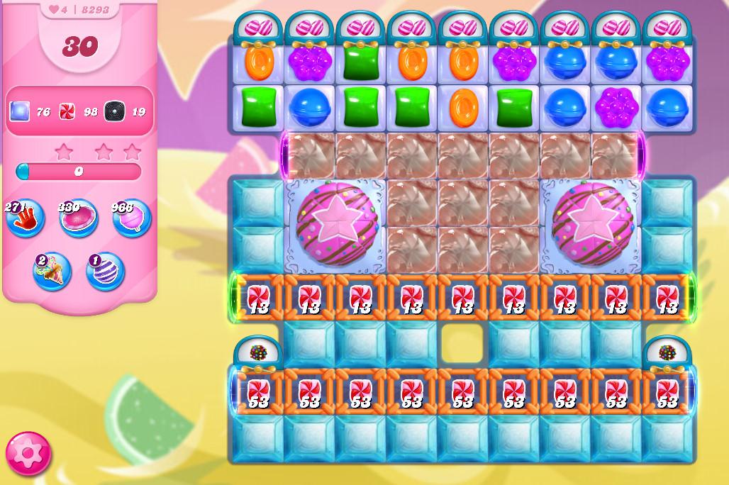 Candy Crush Saga level 8293