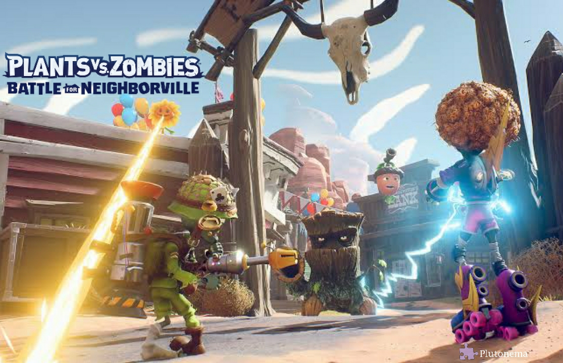 electronic art, game, online shooter, plants vs zombies : battle for neighborville, popcap games, review game,