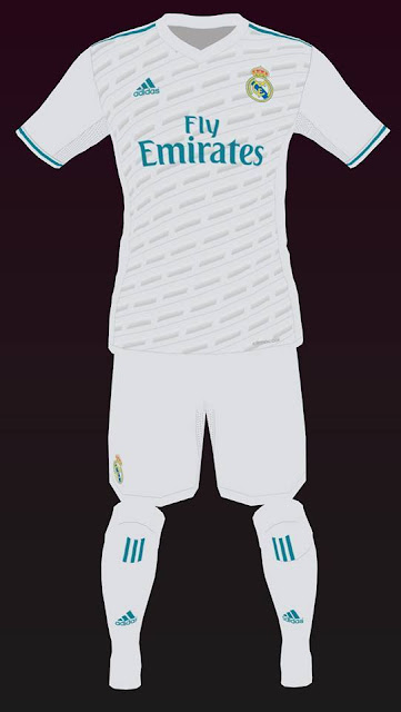 Real Madrid Leaked Home Kit 2017 2018 Pes 2017 Patch Pes New