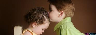 Top latest hd Baby Boy to Girl frist kiss images photos pic wallpaper free download 34