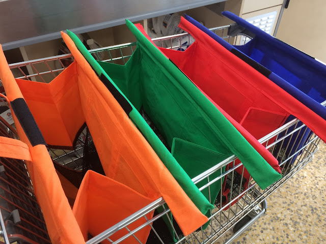 trolley bags, shopping, plastic bags, reducing waste, zero waste