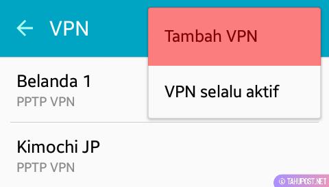 VPN Bawaan HP Android