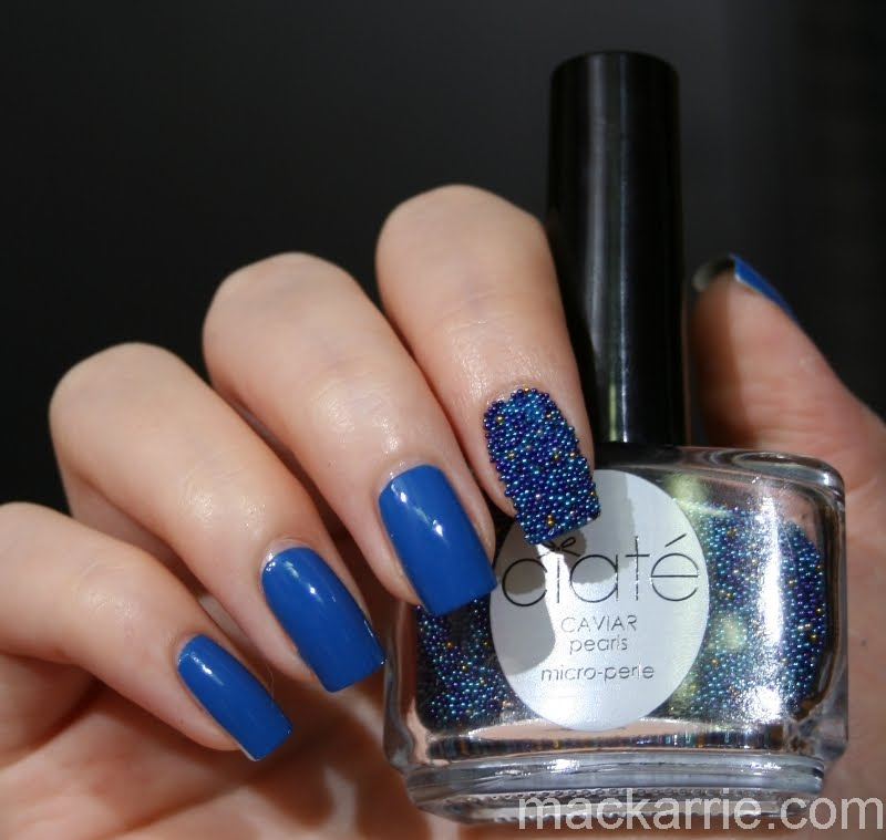 Ciate Caviar Nails: MacKarrie Beauty Style Blog: Ciate Caviar Manicure Skinny