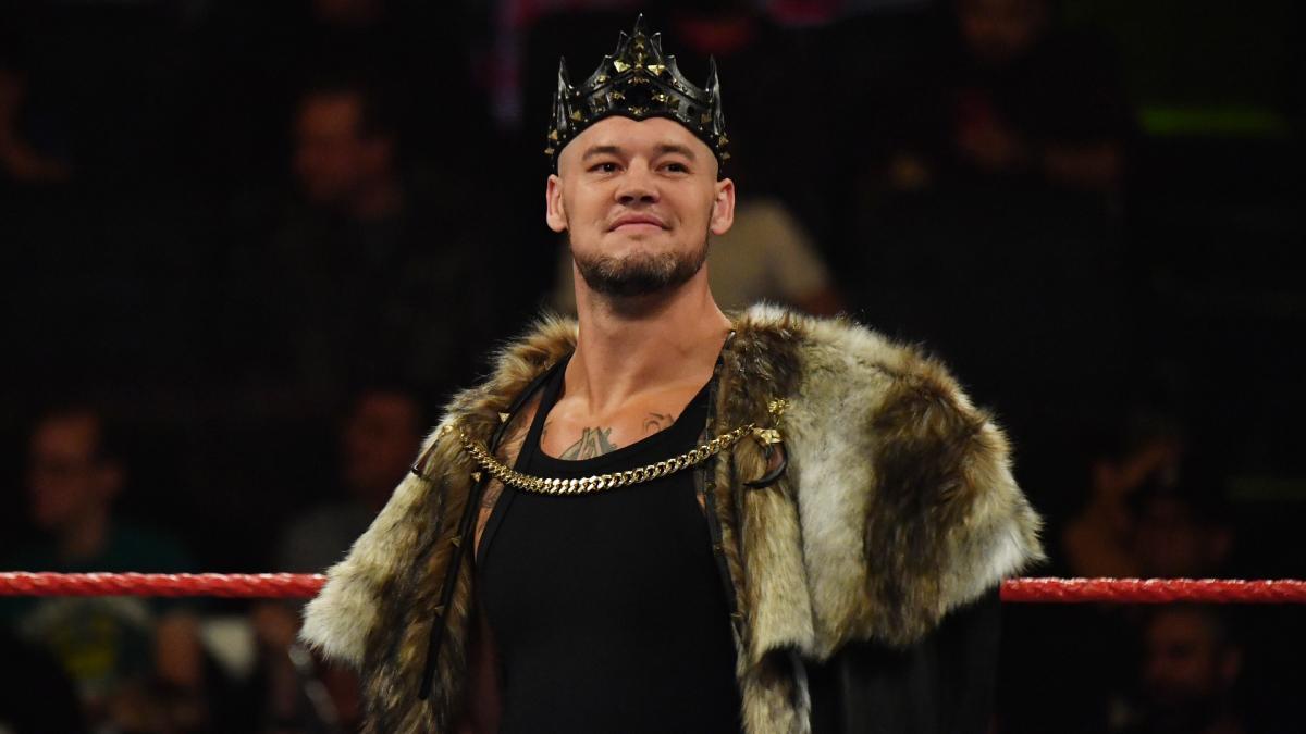 WWE faz alteração no nome de Baron Corbin