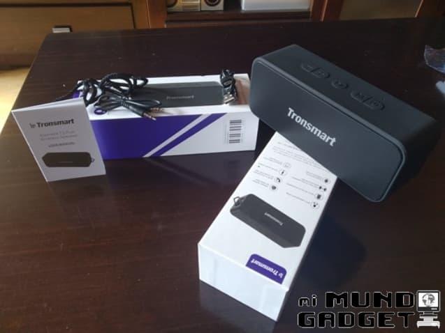 Tronsmart T2 Plus: contenido de la caja