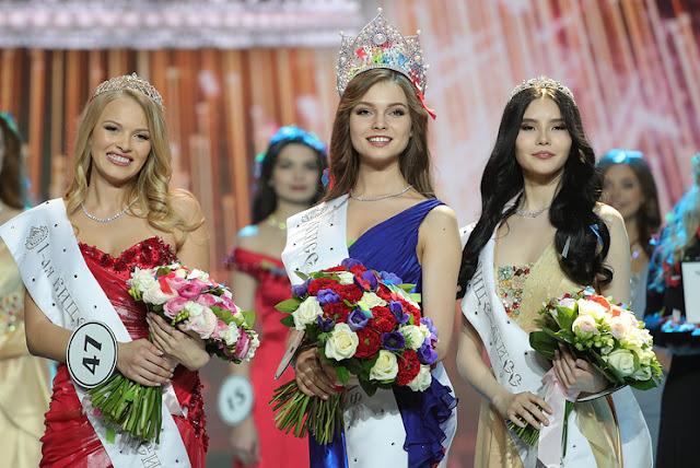 Miss Russia 2018 winner Yulia Polyachikhina