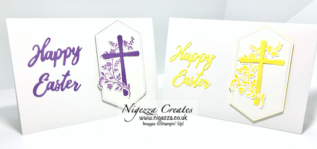 Nigezza Creates with Stampin' Up! Cross of Hope