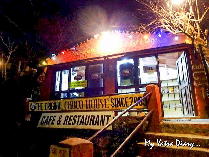 Famous chocolate shop in Mukteshwar Uttarakhand
