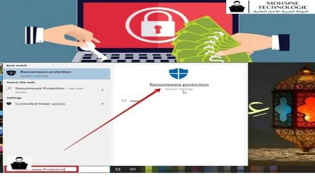 تفعيل ميزة الحماية من هجمات طلب الفدية علي ويندوز 10