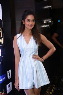 Shanvi Looks super cute in Small Mini Dress at IIFA Utsavam Awards press meet 27th March 2017 104.JPG