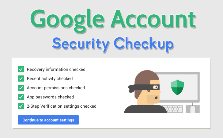 complete google security checkup