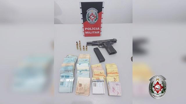 Em uma ação rápida, Policia Militar prende suspeitos de assalto e recuperam quantia subtraída em Patos