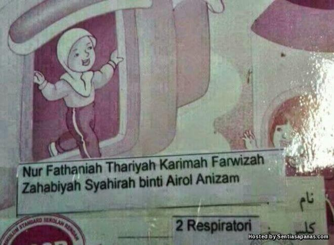 Nama terpanjang di Malaysia