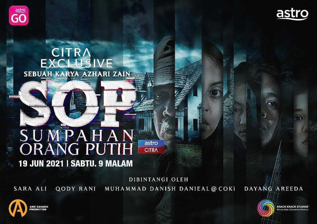 Telefilem Sumpahan Orang Putih 'SOP' Astro Citra Exclusive